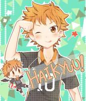 Haikyuu - Hinata by IchigoRanch