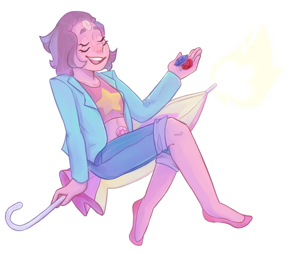 The new Steven universe episode came out and I Am Screaming I knew I had to draw one of them so, have Rainbow Quartz! Expect more SU fanart, as there's a l o t to draw Here's the original screensho...