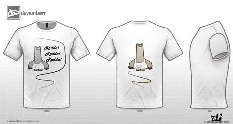 Schnitzel Radda tshirt by xXxEli
