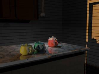 TeaPots by xXxEli