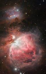 new orion nebula by frenchbear