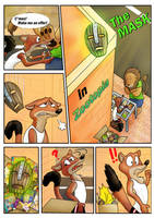Comic-The Mask in Zootopia Page 1 by animatedartlover