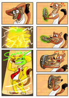 Comic-The Mask in Zootopia Page 2 by animatedartlover
