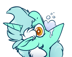 Gargle Horse by WitchTaunter
