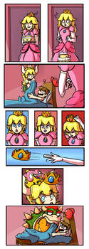 Bowsette Comic by WitchTaunter