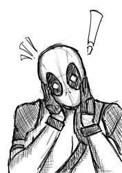 Deadpool Fanart by natsudragn3l