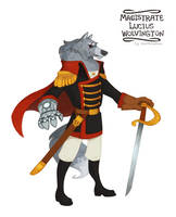 Magistrate Lucius Wolvington by morteraphan