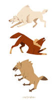 some wolfs 5 by morteraphan