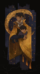 father and son by morteraphan