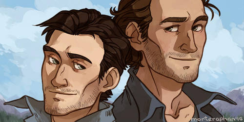 Rafe and Sam by morteraphan