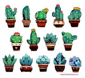 Cactus Mood by morteraphan