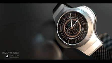 Design Concept Watch - Sport Type by Pallacium