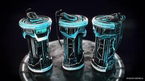 Sci-fi Grenade by Pallacium