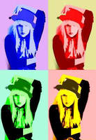 Pop Art Gaga. by RahRahRachie