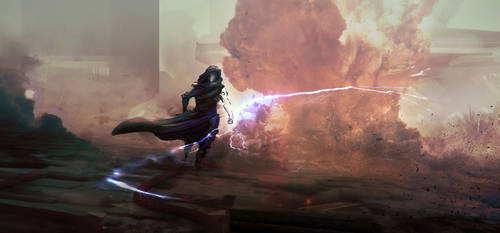 Lightning Spear by Fenris31