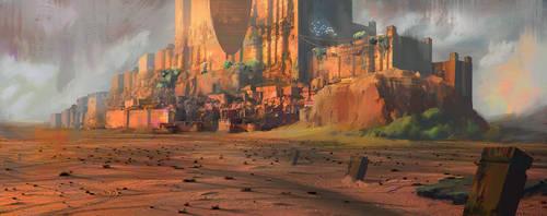 Desert_Castle by Fenris31