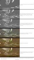 Steps for a quick landscape. by Fenris31