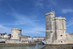 towers of La Rochelle by betteporter