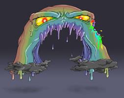 Dark Zombie Rainbow Returns by mjwills