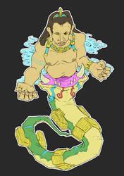 Mayan Vision Serpent by mjwills