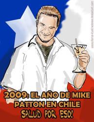 Patton in Chile by Horus-ilustraciones