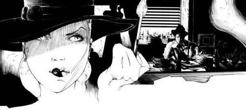 Film noir - Femme fatale by abc142