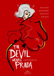 The Devil Wears Prada (poster art) by PHATboyArt