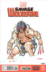 Weapon X Wolverine by fkemp3
