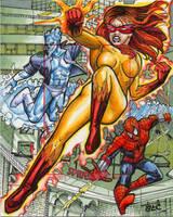 Spider-Man Artist Proof 3 by 80C
