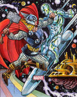 Thor Vs. Silver Surfer AP by 80C