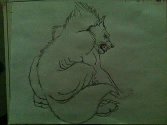 Werewolf WIP by KittyVel