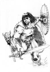 Conan the Barbarian by niezamcomic