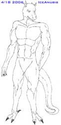 Athletic Dragon by IceAnubis