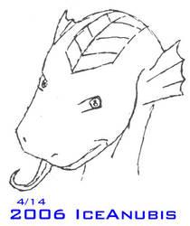 Fin Dragon by IceAnubis