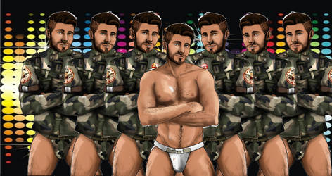 Clones of Ray Doksley take the floor! by Zeldaboyz