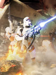 Utapau Clone Trooper by ARKURION