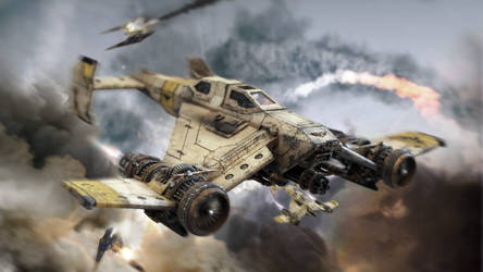 Imperial Domination - Avenger Strike Fighter by ARKURION