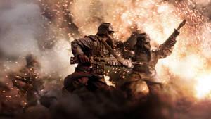 Infantry Assaulting V2 by ARKURION