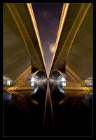 Esplanade Bridge by allanibanez