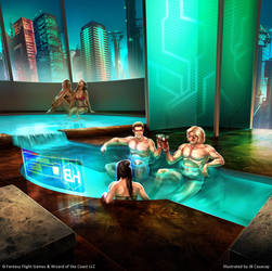 Android: Netrunner - Sontaneous Corporate Retreat by jbcasacop