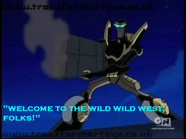 TFA welcome to wild wild west! by BlackSkeletonGirl