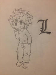 L (uncolored) by BankiSilverWolf