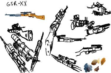 GSR-XX sketches by Dark-Pen