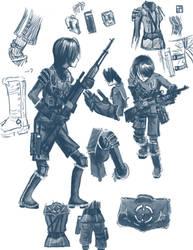 Sniper body - Marina by Dark-Pen