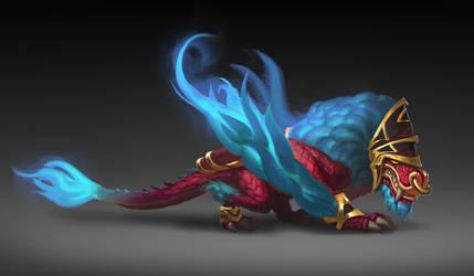 Red dragon by Shiki26