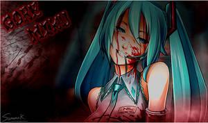 Gore Miku by Azrx004