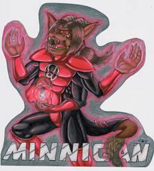 Minnigan Red Lantern Badge by IndigoAngelCat