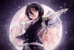Rukia Kuchiki by Huksly