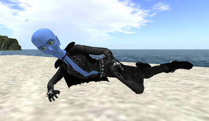 Megamind Custom Avatar for SL. by BLACKBOMBERWOMAN