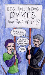 Dykes by rachelillustrates